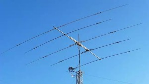 5-Element Kurzwellen Antenne