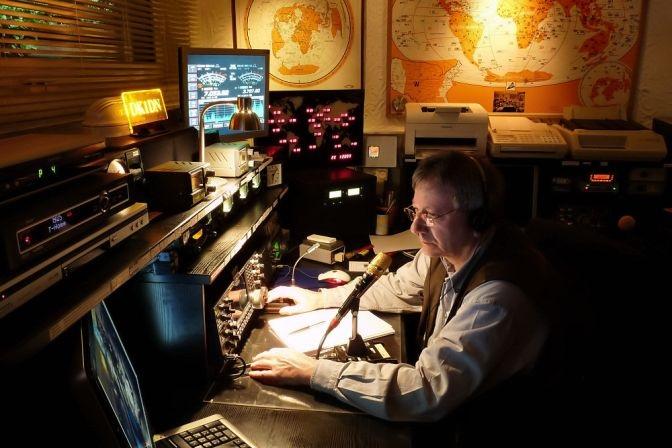 Funkbetrieb in der Nacht DK1DN