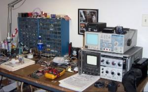 Werkplatz Elektronik